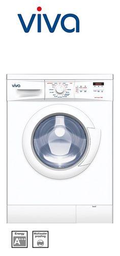 Electronique 1200 - lave-linge frontal - 60cm | Capacité : 1 à 7kg | Volume du tambour : 55L