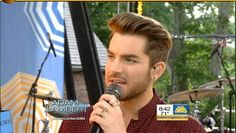 06/19/2015 Adam Lambert Interview GMA Adam Lambert Good Morning America Interview A...