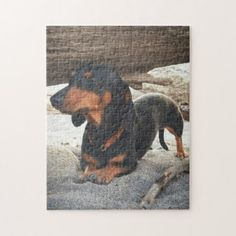 Yoga dog jigsaw puzzle - home gifts ideas decor special unique custom individual customized individualized