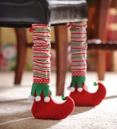 Elf Bootie Chair Leg Cover, Set of 2 | Kirkland's