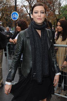 Anna Mouglalis in Chanel - Paris Fashion Week Spring/Summer 2011 Arrivals