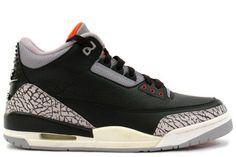 c9505f53cdaf Air Jordan 3 (III) Retro 1994 - Grey Cement Black  95.99 Jordans 2014