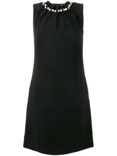 Osman pearl-embellished mini dress