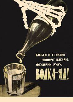 alcool (alcoolisme, mort, URSS) vintage