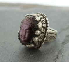Dharmashop.com - Solid Silver Amethyst Adjustable Buddha Rings , $125.00 (http://www.dharmashop.com/solid-silver-amethyst-adjustable-buddha-rings/)