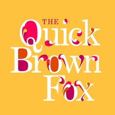 the quick brown fox: pangram design- a work in progress by laura weatherston