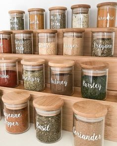 I've started doing a complete pantry makeover . which is one of my favourite. I've started doing a complete pantry makeover . which is one of my favourite things to do 😂 the first area in our pantry I've re-done is…, Kitchen Organization Pantry, Spice Organization, Home Organisation, Diy Kitchen Storage, Kitchen Pantry, Kitchen Decor, Kitchen Ideas, Pantry Ideas, Pantry Storage
