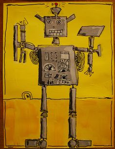 Tintbots from   Make It... a Wonderful Life These came out pretty awful in my jr hi art class!