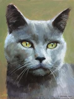 "Daily Paintworks - ""Grey Gray Grey"" - Original Fine Art for Sale - © J. Dunster"