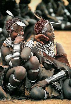 sandylamu: Hamar women, Omo Valley, Ethiopia