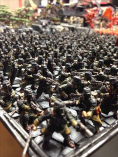 Why did the Krieg cross the table?...because you couldn't kill them all! #DeathKorpsofKrieg #wh40k #astramilitarum #40k