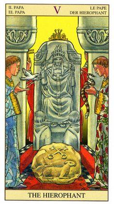 5 - El Papa - Tarot Nueva Visión