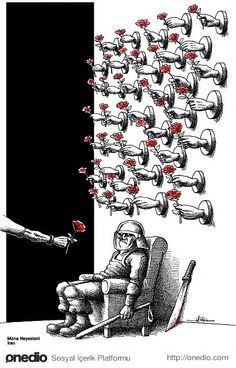 100 Anti-System Caricatures from Exiled Iranian Cartoonist Mana Neyestani – Nilgün Süngü – Join in the world of pin Caricatures, Dark Fantasy, Fantasy Art, Pictures With Deep Meaning, Satirical Illustrations, Meaningful Pictures, Deep Art, Arte Obscura, Social Art