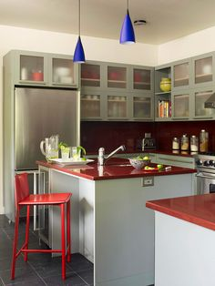 Good use of small kitchen space