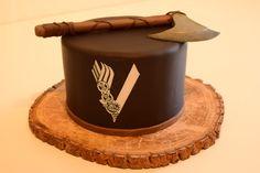 Happy Birthday Cake Topper, Themed Birthday Cakes, Vikings, Cupcakes, Cupcake Cakes, Viking Birthday, Viking Party, Harry Potter Cake, Gorgeous Cakes