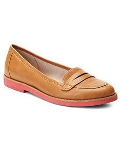 Easy Spirit Shoes, Tara Flats - Comfort - Shoes - Macy's - A fun take on the classic loafer. Get comfort without sacrificing interest.