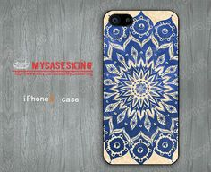 Mandala iPhone5 case iPhone 5 case Floral iPhone5 case Mandala iPhone 5 case cover skin-iPhone 5 Accessory-Choose Your Favourite Color by MyCasesKing, $7.99