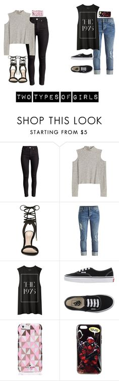 """Two Types Of Girls:: 2"" by fanfic123fanatic ❤ liked on Polyvore featuring ALDO, Vans, Kate Spade, women's clothing, women, female, woman, misses and juniors"