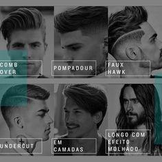 Quer inspiração e esbanjar atitude? Separamos alguns dos cortes de cabelo masculino que são as novas tendências esse ano. Além disso você pode adquirir produtos da Mentório para seguir esse novo estilo. Qual o seu preferido?#mentorio #cortesdecabelo #cortesmasculinos
