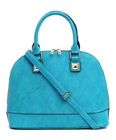 Take a look at this Turquoise Kristy Satchel on zulily today!