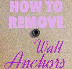 How to remove wall a