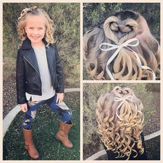 Another quick and easy heart hairstyle! We just added curls and a ribbon bow today! #tinzbobenz #toddlerhair #toddlerhairstyles #princesshair #hairideas #hairinspo #hairstyle #hairstyles #hairforkids #cutegirlshairstyles #curls #curlswithattitude #hearthair #hearthairstyle #valentineshair #instahair #instakids #instabraid #instastyle #kidsootd #kidshair #kidsbraids #kidsstyle #kidsfashion #readyforschool #14daysoflovehair