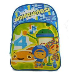 "Team Umizoomi UmiFriends 16"" Backpack"