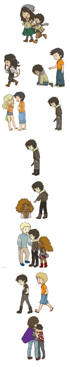 It's been a while since I've exited the PJO fandom, but this is too cute not to repin