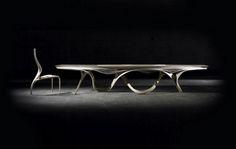 Art furniture by Gildas Berthelot