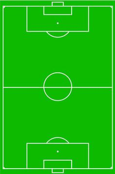 Library Of Football Field Border Clip Art Royalty Free with regard to Blank Football Field Template - Great Professional Templates Preschool Lesson Plan Template, Lesson Plan Templates, Football Pitch, Football Field, Poster Football, Football Positions, Kids Sports Party, Soccer Drills For Kids, Association Football