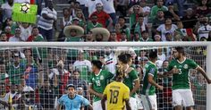 PASADENA, Calif. (AP)  After Kemar Lawrence ripped and exquisite shot over Mexico's five-man wall and into the top corner for one of the biggest goals in Jamaican soccer history, the defender hushed his teammates and refused to celebrate.   These Reggae Boyz are staying cool, even after a...