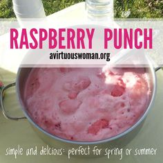 Raspberry Punch @ AVirtuousWoman.org
