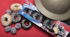 Entenmann's and The Salvation Army get ready to celebrate National Donut Day on June 5 with the new Rich Frosted Patriotic Donuts. Pictured alongsid...