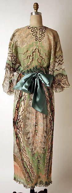 Designer: Zandra Rhodes (British, born 1940) Date: 1975 Culture: British
