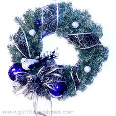 3 Christmas Wreaths & Christmas Wall Art | Girlfriends Are Like Shoes