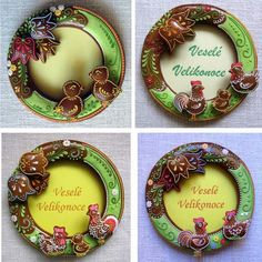 Easter wreaths (photo)