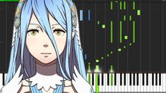Lost In Thoughts All Alone - Fire Emblem Fates [Piano Tutorial] (Synthesia) // SheetMusicDesu
