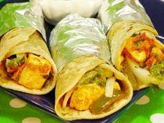 Indian Street Food - Egg Noodles Roll Mumbai Street Food