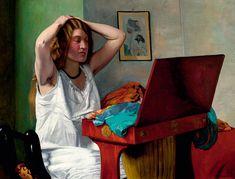 "Felix Vallotton : "" Coquetterie "" 1911 - (c) Galerie Vallotton - Lausanne"