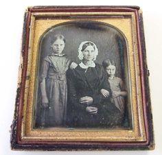 Wilson Family American Daguerreotype C 1848 49 | eBay
