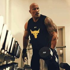 ~~Big muscles~~Great Bodybuilder=The Rock