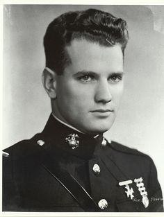 1st LT George Cannon USMC, was the first Marine in WWII to receive the Medal of Honor. Though mortally wounded, he refused to leave his post and bled to death.