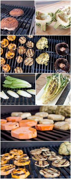 6 GREAT Veggies to grill!