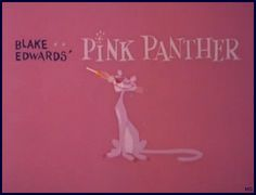 Kokdi Mpath's Blog This!: Retro Anime Database: Pink Panther