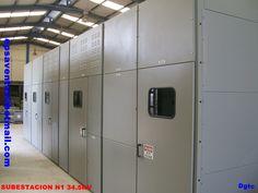 subestacion compacta                               marca Electro Puente                                    , clase 34.5 kv 400A  nema 1