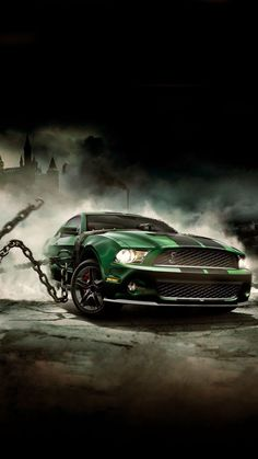 The Ford Mustang GT is an American car manufactured by Ford. In the generation Ford Mustang is a thoroughly modern rear drive performance coupe. Mustang Cars, Ford Mustang Gt, Ford Mustang Wallpaper, Car Backgrounds, Wallpaper Animes, Custom Muscle Cars, Street Racing Cars, Best Luxury Cars, American Muscle Cars