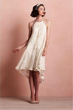 HLo-Tips: Eres eres hipster, indie o diferente este es tu vestido ideal de novia! Sencillo, elegante y propositivo.