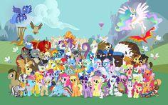 Personajes - My Little Pony: La Magia de la Amistad Wiki