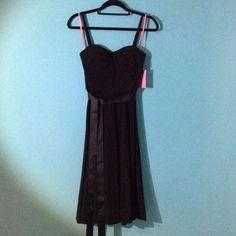 Nwt Black Slinky Dress From Isaac Mizrahi