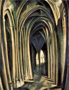 St.Severin, No.3 - Robert Delaunay